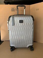 Tumi Latitude International Slim Carry-On Case Lightweight Silver 287607 NEW