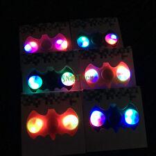 10 Pack BATMAN Hand Finger Spinner BAT LED Fidget Spinner Fidget Toy EDC