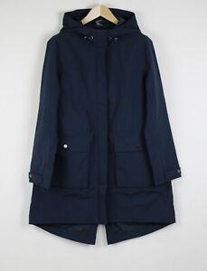 SWEATY BETTY STRIDE WATERPROOF Women MEDIUM Hooded Parka Sport Jacket 21257*