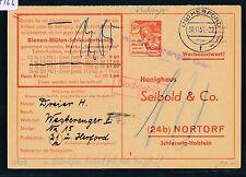 87166) OWL> Landpost L2  21a Westerenger-Dorf über Herford, Karte 1957