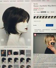 Reese by Noriko wig in Dark Chocolate - New, unworn