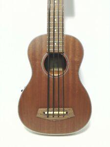 Haze Electric-Acoustic Bass Ukulele w/Aquila Thunderblack String  HA-UB30EQ 