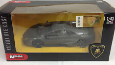 Mondo 1:43 Scale Lamborghini Reventon Die Cast Model Car Grey
