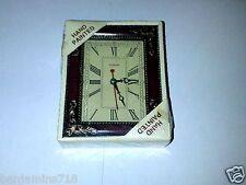 ANTIQUE FINSHED CLOCK HAND PAINTED CLOCK  DECORATING Living room
