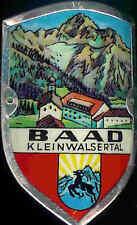 Baad Kleinwalsertal used hiking medallion stocknagel shield G1467