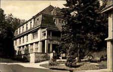 Bad gottleuba Sajonia ~ 1963 RDA Suiza Sajona Erzgebirge sanatorio casa m3