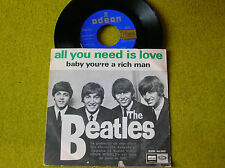 SPANISH SP THE BEATLES - All you need...ODEON DSOL 66.080