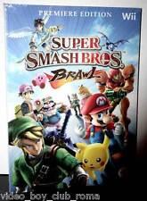 SUPER SMASH BROS. BRAWL GUIDA STRATEGICA UFF. ITA NINTENDO Wii NUOVA FR1 31464