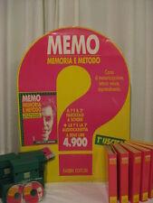 MEMO, MEMORIA E METODO - L'UNICO ORIGINALE