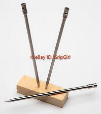 "Titanium Ti 6.5"" Survival Pin Ice Pick Icepick/Dart/Spike/Spear Head Gear EDC"