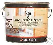 16,90 € / L. chinesisches Holzöl (Tung Tree Oil), mit Leinöl, farblos, 1 Liter