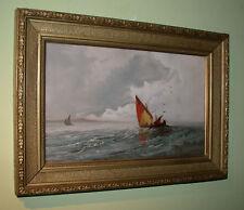 Segelboote am offenen Meer.