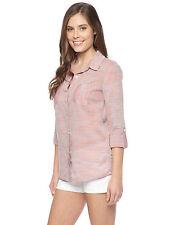 SPLENDID Capri Henley Button Down Shirt Top Size M NWT $128