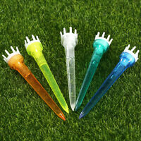 Golf Tee Crown Top Tees 76mm (Assorted Color) Reduce Friction 50 Pack US Ship