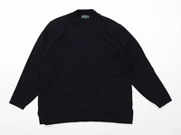 Mackenzie Country Womens Size S Merino Wool Blend Black Jumper (Regular)
