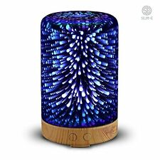 New Essential Oil Aroma Diffuser Ultrasonic Humidifier Aromatherapy 3D Effect