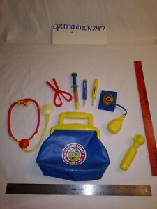 TYCO SESAME STREET DOCTOR'S KIT PLAYSET TOY 1997