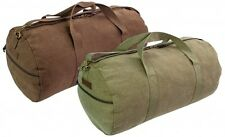 HEAVY DUTY CANVAS HOLDALL roll for gym bag, army duffle, military cotton CRIEFF