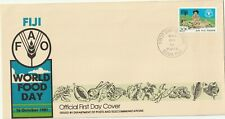 1981 Fiji oversize FDC cover FAO World Food Day