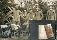 1. Weltkrieg, Fotoalbum, 6. Bayr. Landw. Feld Art. Regt. 64 Orig-Fotos 1915/16