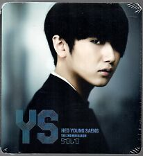 Solo  by HEO YOUNG SAENG (SS501) 2nd Mini Import CD Korea  Edition Sealed K-pop