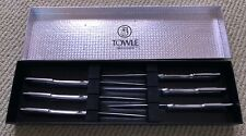 Vintage Set of 6 Towle Silversmiths Stainless Steel Steak Knives new