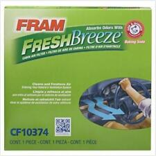 NEW FRAM CF10374 Fresh Breeze Cabin Air Filter with Arm & Hammer