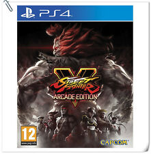 PS4 Street Fighter V Arcade Edition Sony PlayStation Capcom Fighting Games