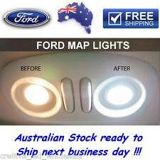 Ford Premium LED ULTRA White Map Light Upgrade Falcon XT AU BA BF FG XR6 XR8 FPV
