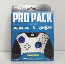 NEW KontrolFreek Alpha + Grips PRO PACK Thumb Stick Grip Extenders BLUE Xbox One