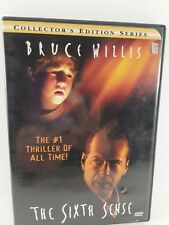 The Sixth Sense (Dvd, 2000, Collectors Series), Widescreen, Bruce Willis