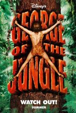 GEORGE OF THE JUNGLE MOVIE POSTER DS ORIGINAL ADV 27x40