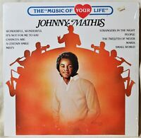 Johnny Mathis The Music of Your Life LP Shrink NM Vinyl Wonderful Chances Are
