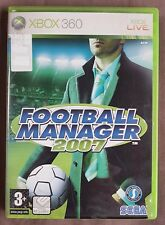 Football Manager 2007 Xbox 360 PAL [Sega, Sports Interactive]