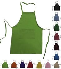 set of 25 Kids Children Chef Apron Real Fabric Small fits Kids 3-8 High Quality