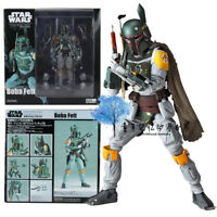 Kaiyodo Star Wars Revo No.005 Boba Fett Revoltech Action Figure Statue KO Toy