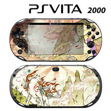 Vinyl Decal Skin Sticker for Sony PS Vita Slim 2000 Okamiden Wolf Dog