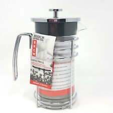 French Classic Coffee Press Polished Stainless Steel Brooklyn Steel Co 8 Cup