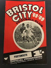26/10/1968, Bristol City v Portsmouth, No FL Review, Division 2