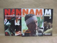 Nam Magazine Vietnam Experience Orbis 1965-75 ~ 4 Magazines 1, 2, 3 & 4