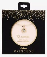 Disney Tangled Rapunzel CZ Crystals Kingdom Sun Dainty Charm Pendant Necklace