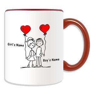 Personalised Gift Romantic Mug Money Box Customise Love Valentine Tea Coffee Cup
