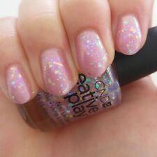 Original CND Nail Polish Got a light light pink holographic