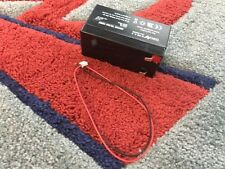 12V 1.3AH Sealed Rechargeable Lead Acid Battery With Connecting Wire ON SALE