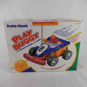 Vintage NOS Radio Shack Beginner Radio Controlled RC Car Play Buggy