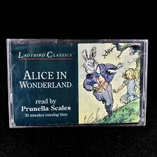 LadyBird Classics Alice In Wonder Land Cassette Tape Read By Prunella Scales vgc