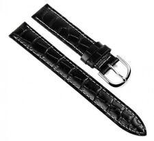 Casio Correa de Reloj Cuero Banda 15mm Negro LTP-1302 LTP-1303