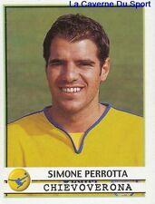 086 SIMONE PERROTTA ITALIA CHIEVO VERONA STICKER CALCIATORI 2002 PANINI