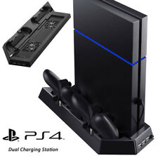 Cooling Fan Vertical Stand Station Controller Charger for PS4  Playstation 4 UK1