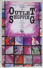 Vintage Guide To Outlet Shopping 1991 1992 Michigan Indiana Wisconsin Booklet